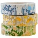 Japanese Washi Tape - Little Garden