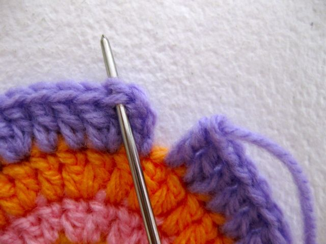 How to join together without ending up with that ugly slip stitch seam when crocheting in the round.