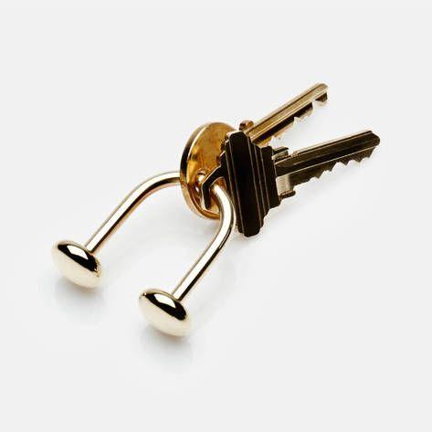 carl aubock u key ring.