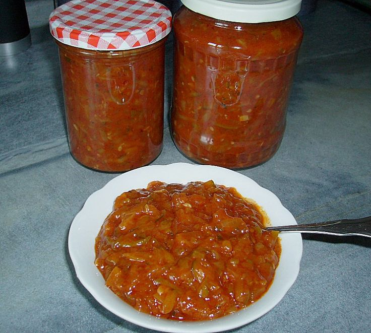 Chefkoch.de Rezept: Zucchini - Salsa