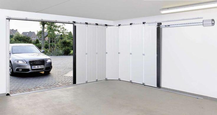 side sliding garage door - Google Search