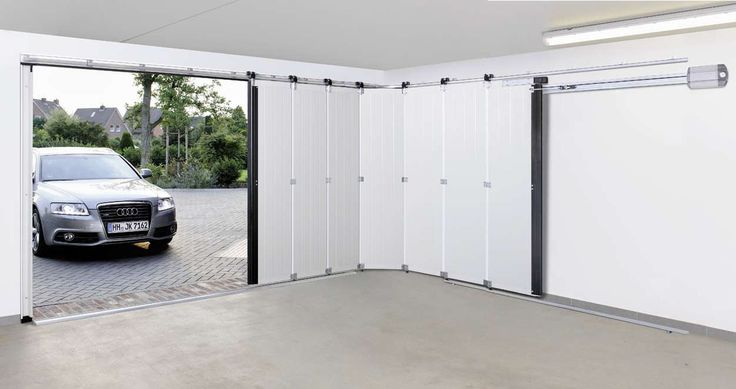 side sliding garage door - Google Search