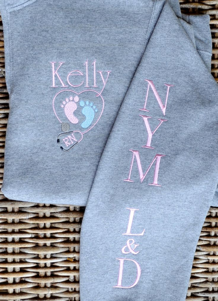 Nurse Pullover, Labor and Delivery , Monogrammed, 2 Day