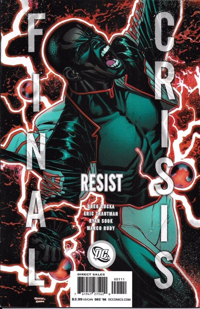 DC Final Crisis Resist comic issue 1