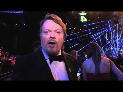 Behind the scenes with Eddie Izzard at BBC Sports Personality of the Year 2014 - YouTube