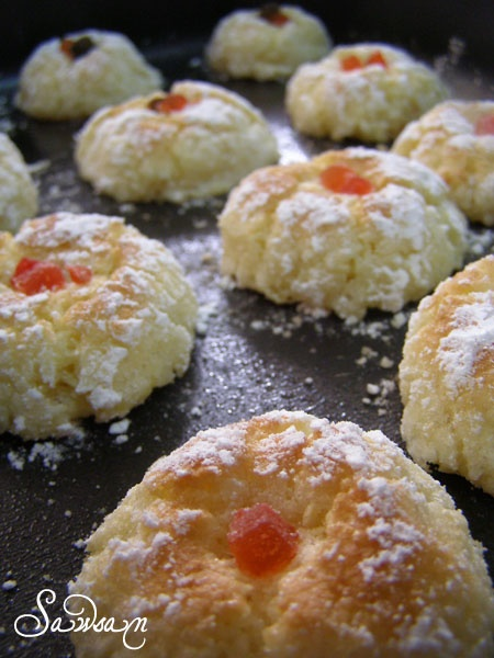 Middle Eastern coconut macaroons