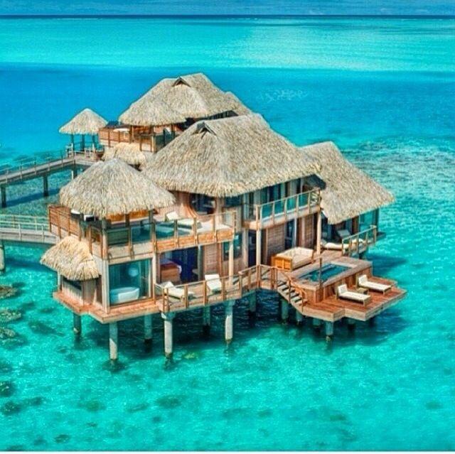 Image Result For Hilton Hotel Bora Bora Beautiful Presidential Suite Hilton Bora Bora To Pin On