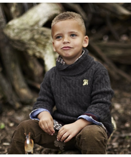 The luxurious Baby K Knitted Rollneck Jumper is wonderfully warm and soft to the touch, ideal for keeping them cosy throughout the winter months.
