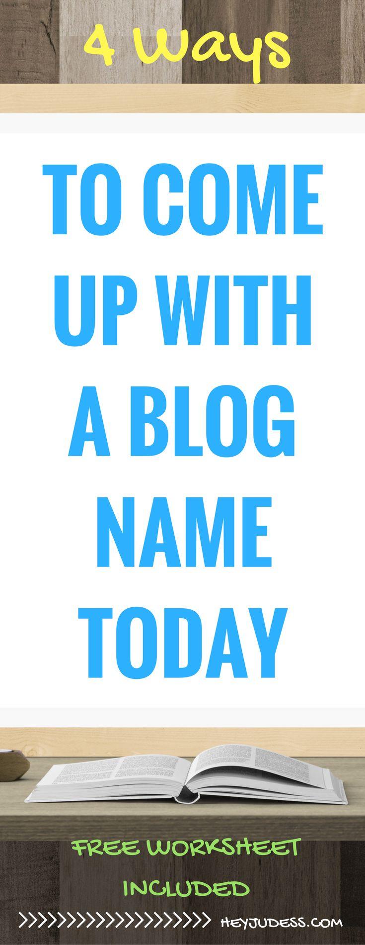 Best 25 Catchy Names Ideas On Pinterest Creative Blog - MVlC
