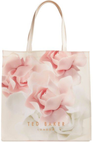 Ted Baker London Large Icon Porcelain Rose Tote available at #Nordstrom