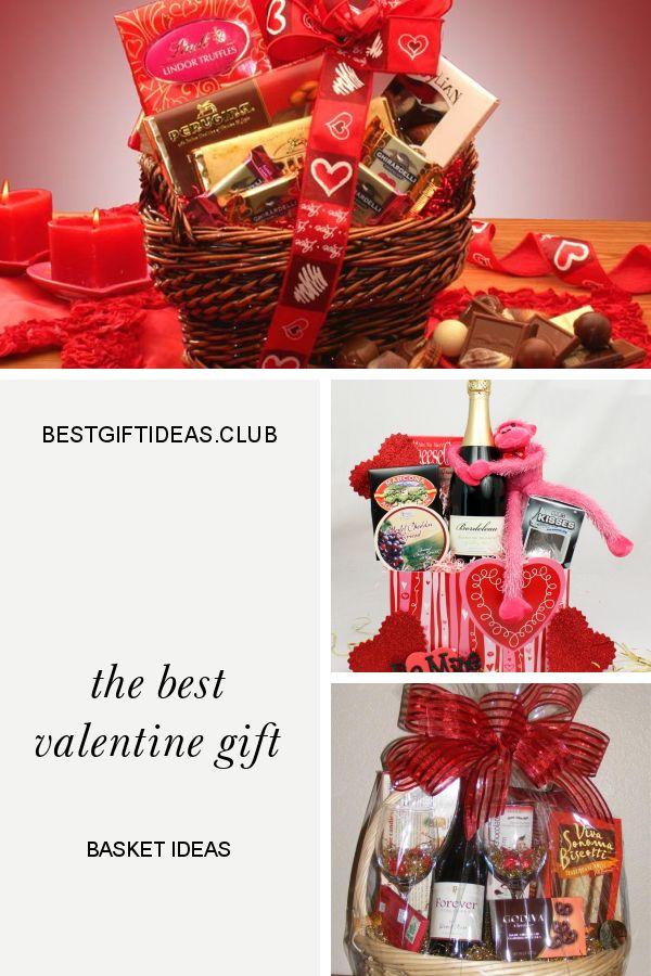 Die besten Valentinstag Geschenkkorb Ideen   – Valentine'S Day Gift Ideas