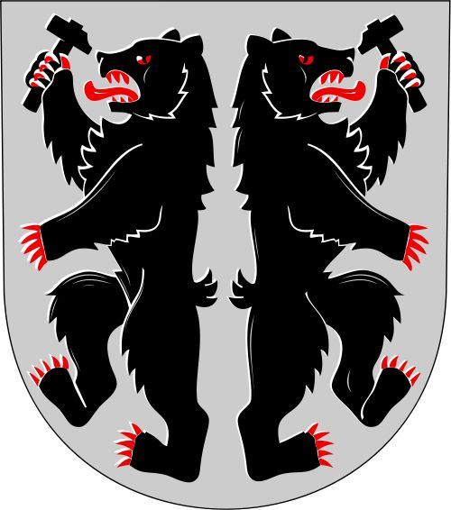 Coat of arms of Karhula (to Kotka in 1977)