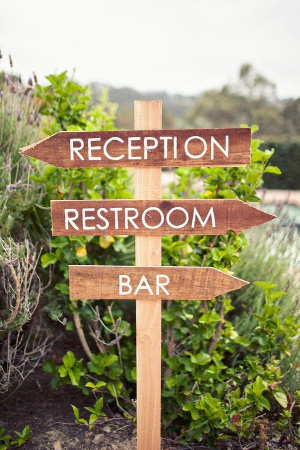 wooden signs: Receptions Signs, Floral Design, Signs Signs, Rustic Signs, Fonts, Comic San, Wooden Signs, Simple Signs, Signs Easy