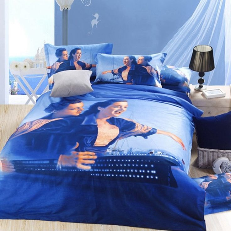 Titanic Bedroom Theme: Titanic Bedding Set Queen Size 5pcs
