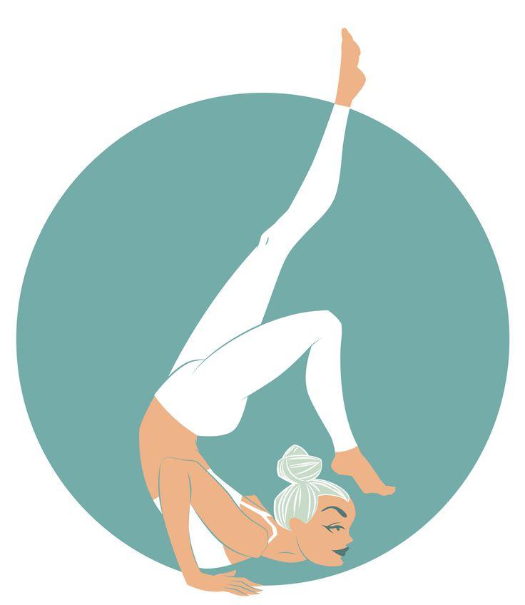 Yoga project. Ganda Bherundasana, Formidable Face Pose.
