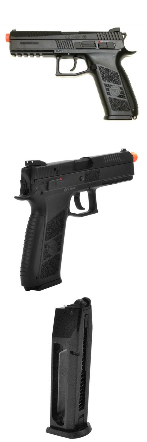 Pistol 160921: Asg C02 Gas Blowback Pistol Cz P-09 Gbb Airsoft 385 Fps Semi-Auto Recoil 50085 BUY IT NOW ONLY: $118.75
