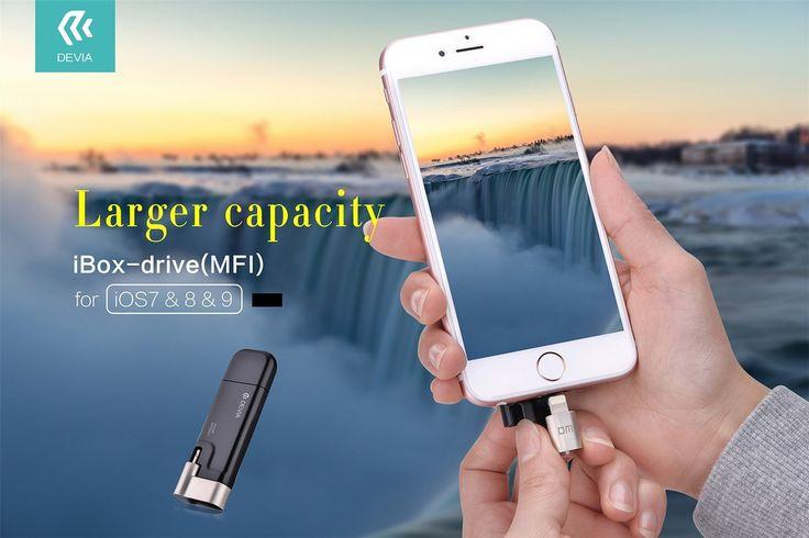 Devia-Unità Flash USB rotante per archiviazione esterna-Scheda di memoria da 32 GB, con connettore Lightning, certificata Apple MFI, per iPhone/iPad/iPod: Amazon.it: Elettronica
