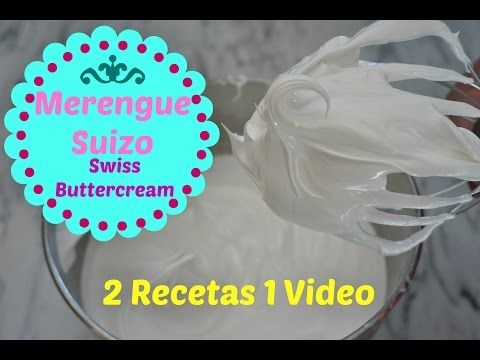 Merengue Suizo Facil y Economico/Swiss Buttercream - YouTube