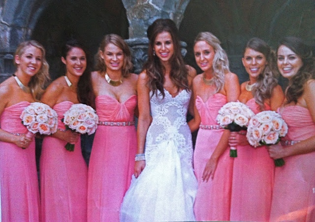 Vogue Williams And Brian Mcfadden Wedding Pictures Chasing Rainbows Frogs Weds