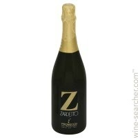 Zardetto Prosecco di Treviso Brut, Veneto, Italy label, dry, sparkling wine with hints of peach and pear