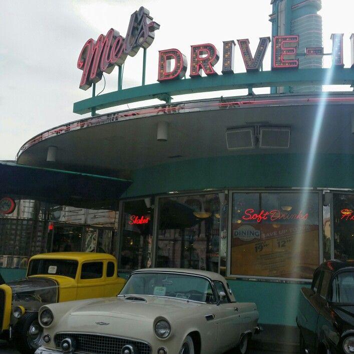 Mel's Drive In Diner, Universal Studios