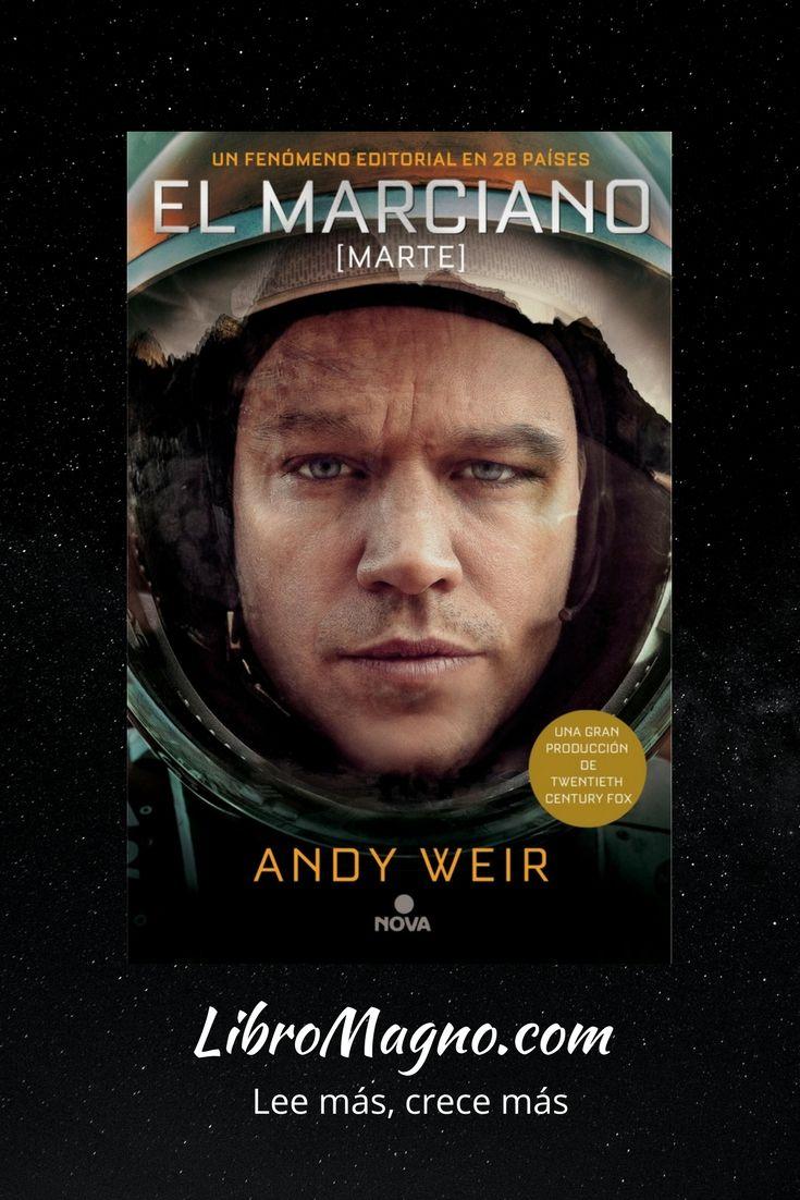 """#RecomiendoLeer """"El Marciano"""" de Andy Weir. Un relato ingenioso, una historia extraordinaria y un protagonista genial http://www.libromagno.com/2018/01/resena-el-marciano-andy-weir.html #libromagno"""