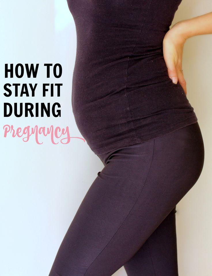 (Not) Staying fit during pregnancy was one of the biggest regrets I had during my first pregnancy. Namely, that I didn't make much of an effort to stay fit. I walked most days and as much as I could. I...