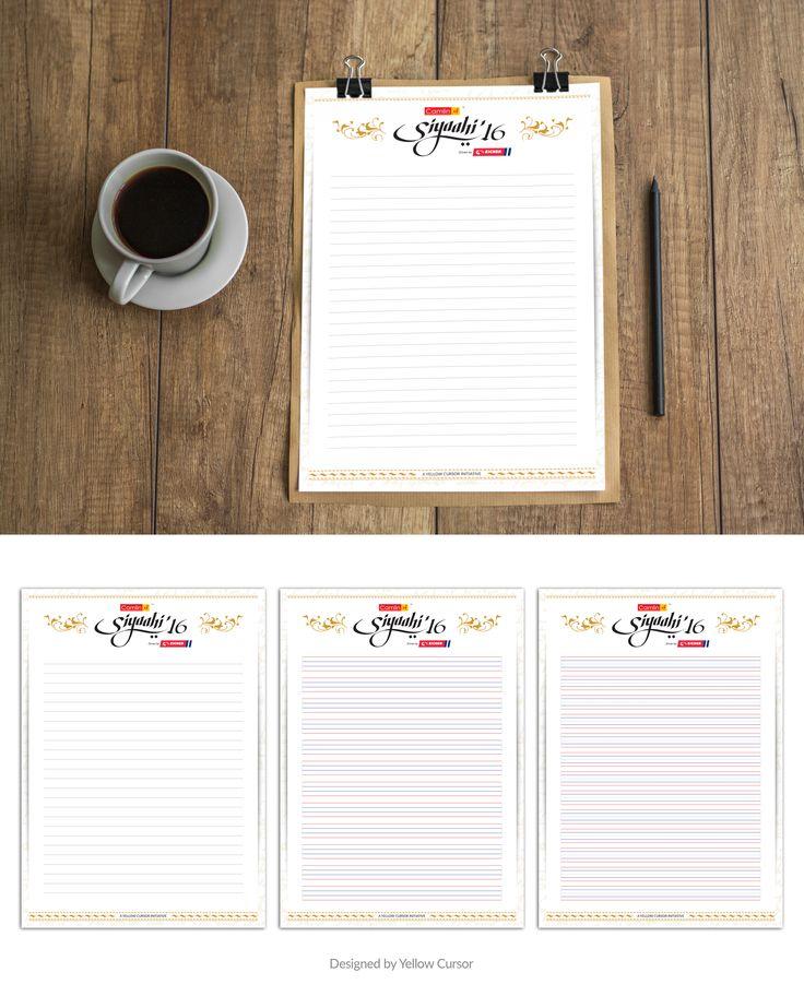A4 Handwriting Sheets.
