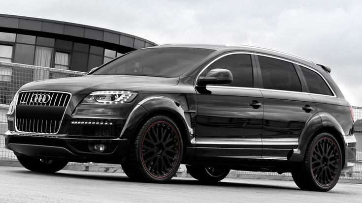 Audi Q7 Diesel Wide Track By Kahn Design Motorward