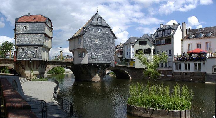 Alte Nahebrücke, Bad Kreuznach, Rhineland-Palatinate, Germany. Pic 01.jpg