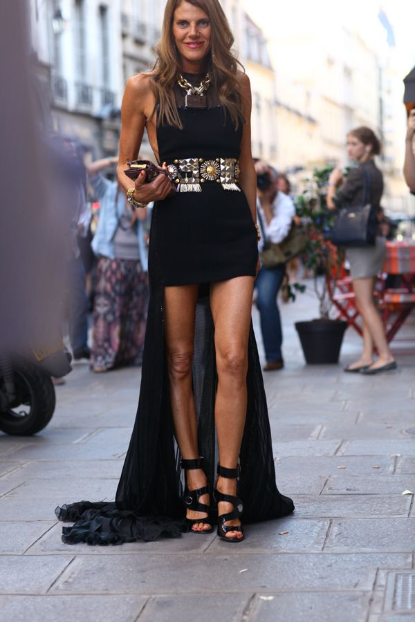 Forum buzz anna dello russo dresses down and is blake lively the new carrie bradshaw