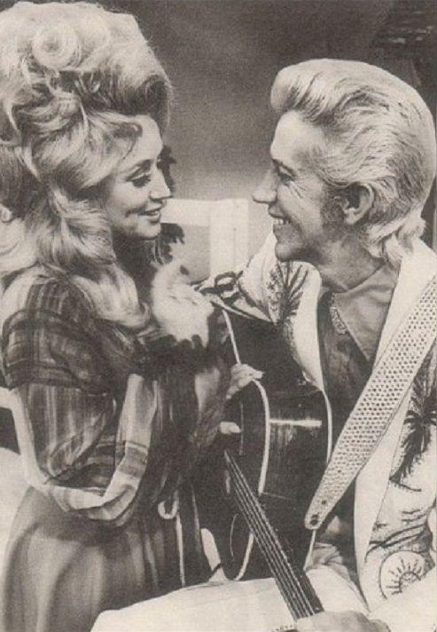 Dolly Parton #Porter Wagoner