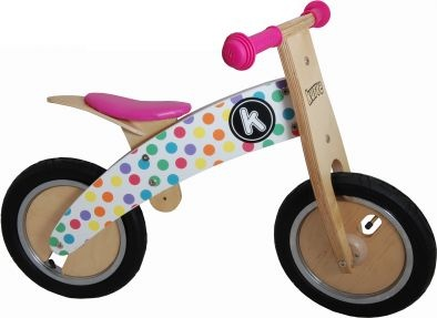 teach miss k how to ride without training wheels
