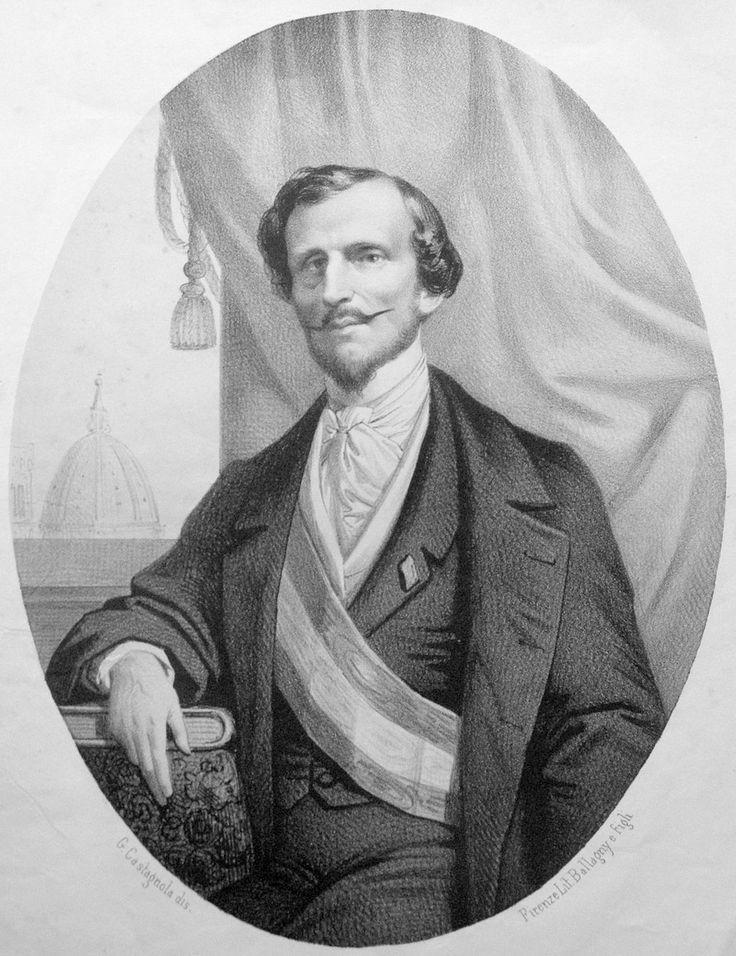 Bettino Ricasoli, il Barone di ferro, (9.3.1809 - 23.10.1880) è stato un politico italiano, sindaco di Firenze e secondo presidente del Consiglio del Regno d'Italia dopo Cavour.