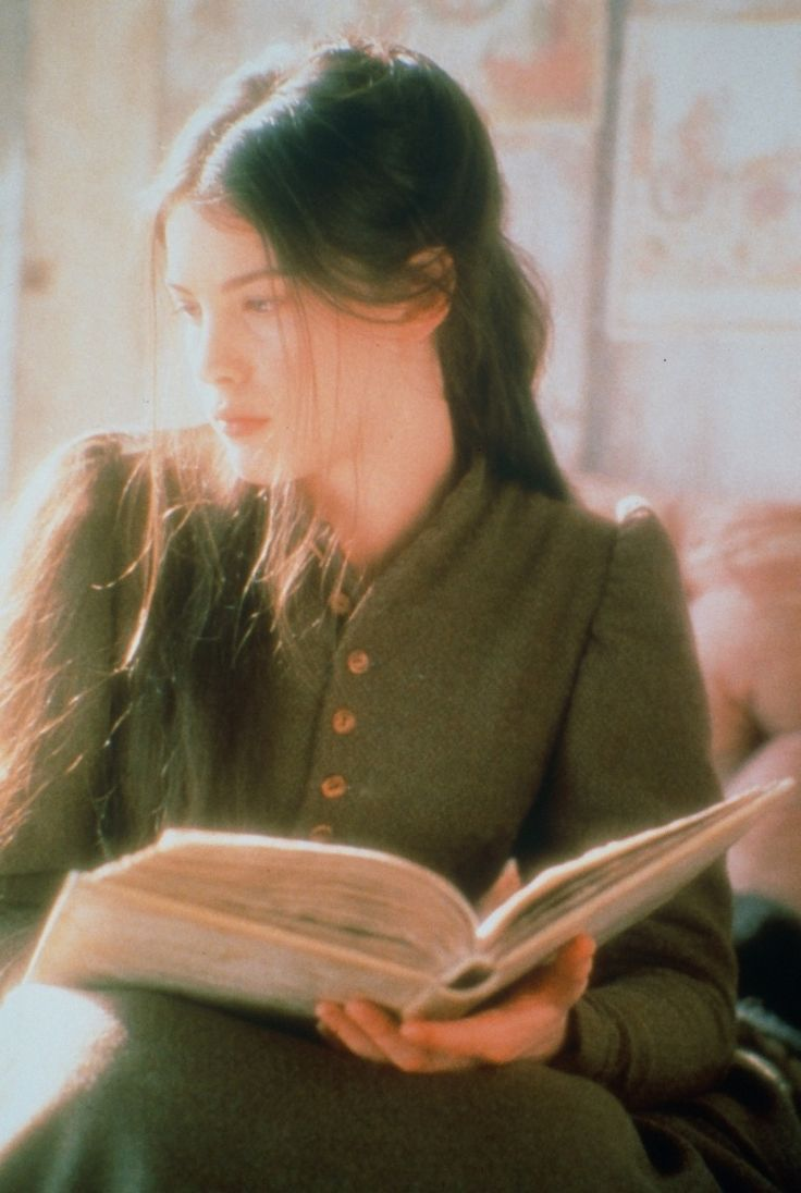 Tatyana Larina from Eugene Onegin  (by Alexander Pushkin) | Image from the film Onegin (1999), with Liv Tyler as Tatyana.