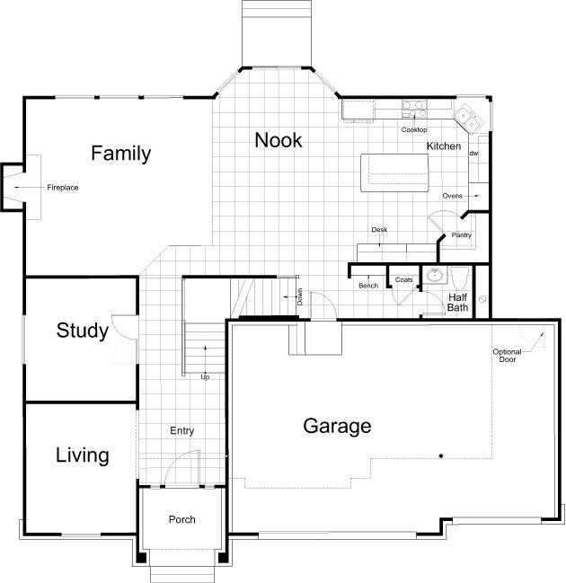 Ivory homes revere floor plan for Ivory home plans