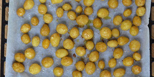 Nye kartofler i ovn