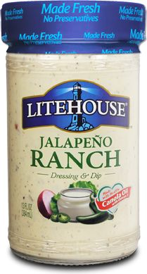 Jalapeno Ranch | Litehouse Foods This is my favorite dressing but ...