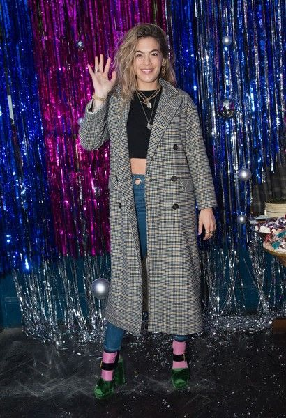 Chelsea Leyland attends the Burberry x Cara Delevingne on December 2, 2017 in London, England.