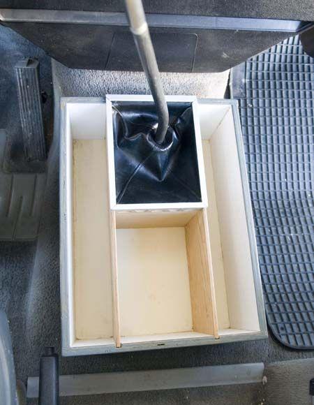Westfalia Console Box