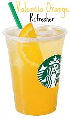 Sunglasses And Starbucks: Starbucks In Making: Valencia Orange Refresher