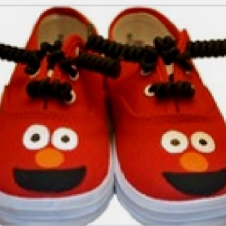 Elmo shoes (With images) | Baby shoes, Shoes, Elmo