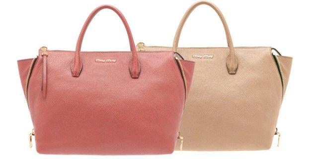 Pratica e funzionale, è la nuova shopping bag di Miu Miu - Sfilate