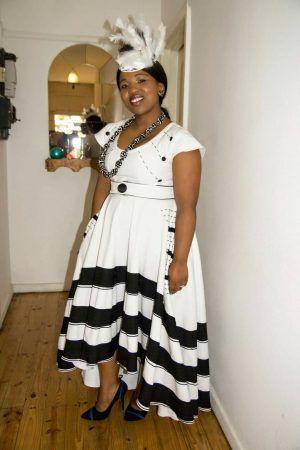 Circular-skirt-xhosa-dress
