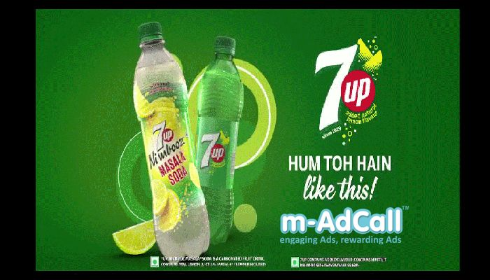7UP  Till the count's UP!  Here 7UP using m-adcall to capture attention of people belongs to every age group for both gender covering every state.  Have a look to Campaign Details: http://goo.gl/PPtxKR