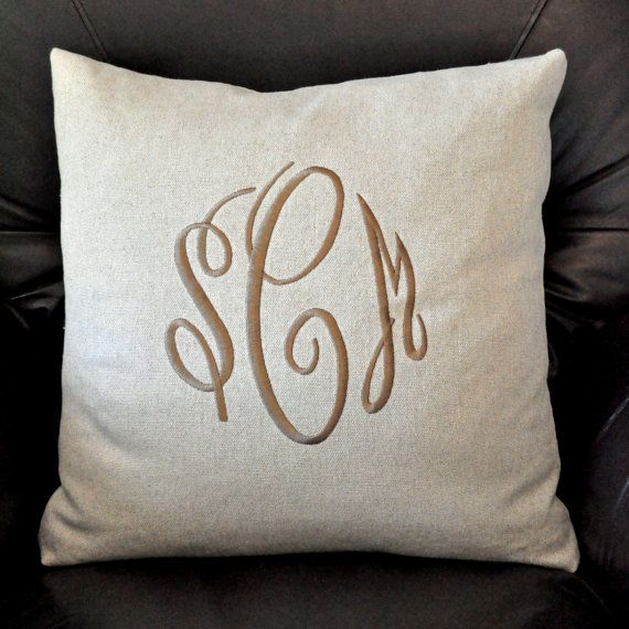 My mother in love's shop on etsy! Tons of cute items! Monogrammed and more! This is the pillow she made for me! Lillysshopdotcom on etsy