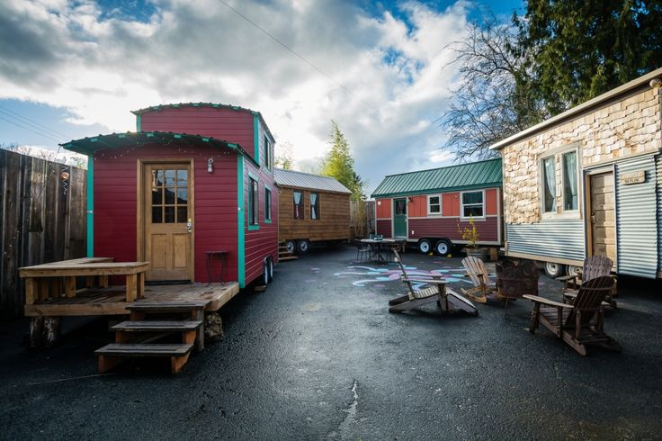 The Skyline Tiny house in Portland, Oregon built by Eric Bohne. See more here!