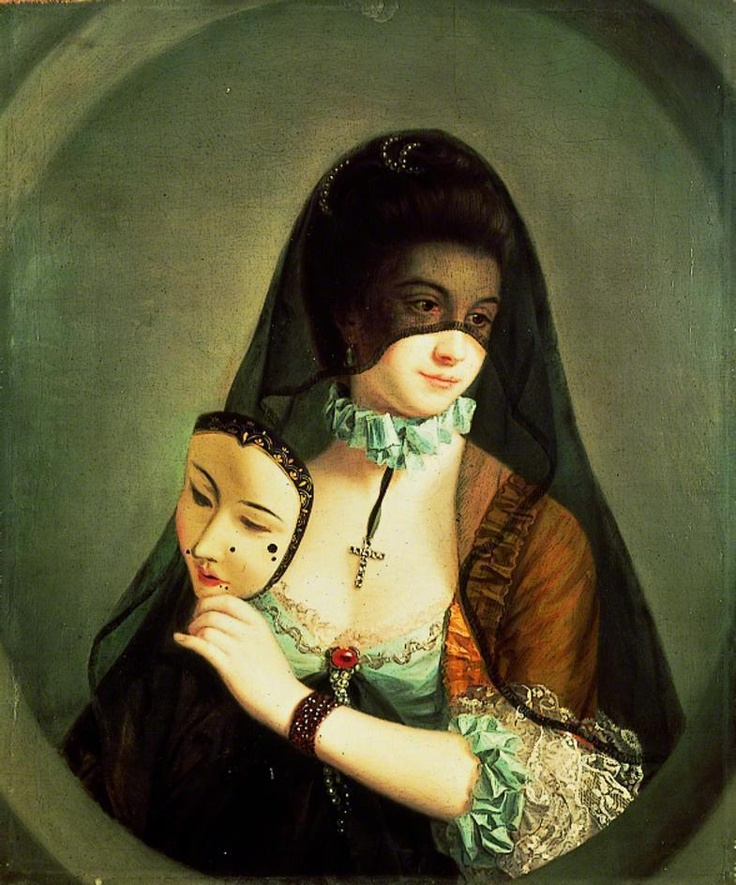 The Fair Nun Unmasked by Henry Robert Morland
