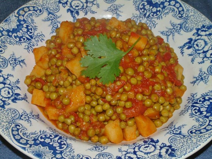 Indiase Kerrie Doperwten recept | Smulweb.nl