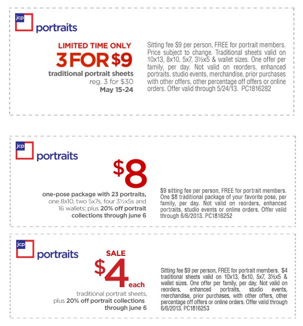 Jcpenney portrait coupons - Sweet wise nashville